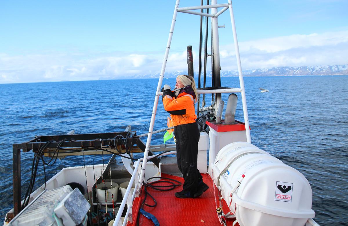 merete gamst reiseblogg lofot fiske
