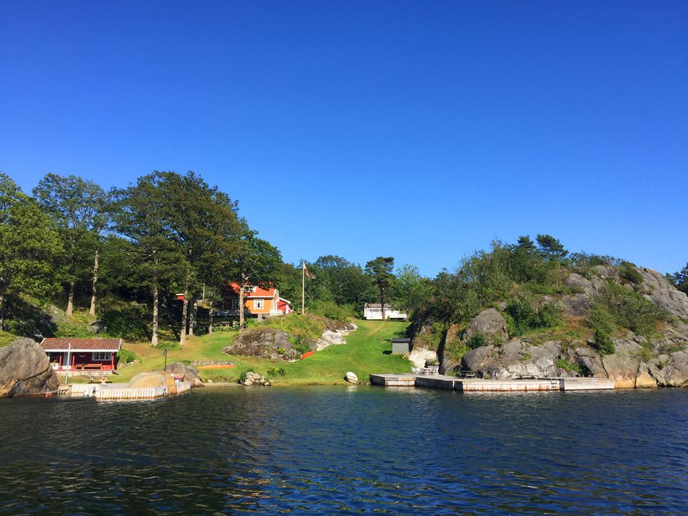 norsk sommeridyll hytter