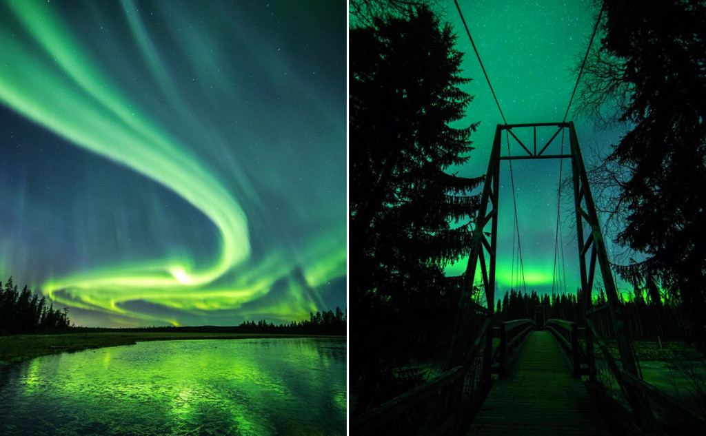 northern lights amazing