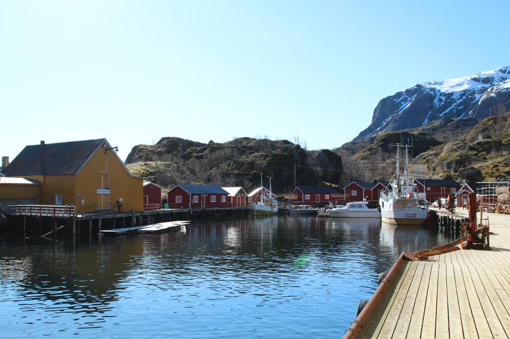nusfjord lofoten norway
