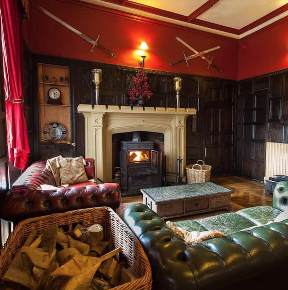 overnatting engelsk historisk slott