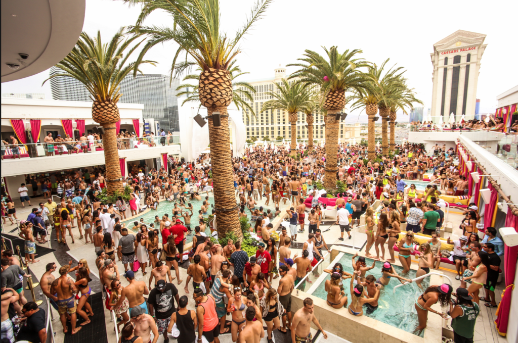 pool party las vegas cromwell