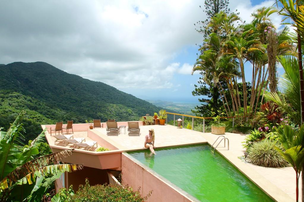 regnskogen puerto rico hotell unikt overntatting