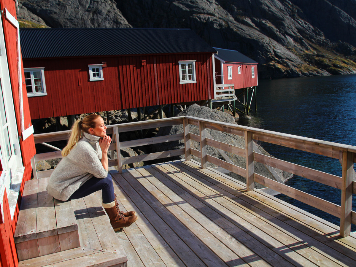 rorbu life lofoten best places to stay