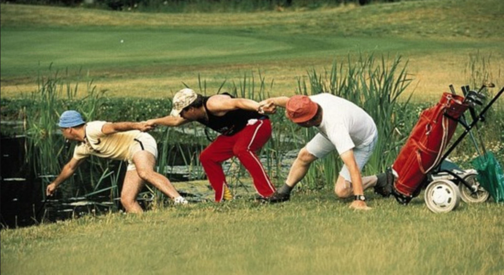 selskapsreisen golfaren
