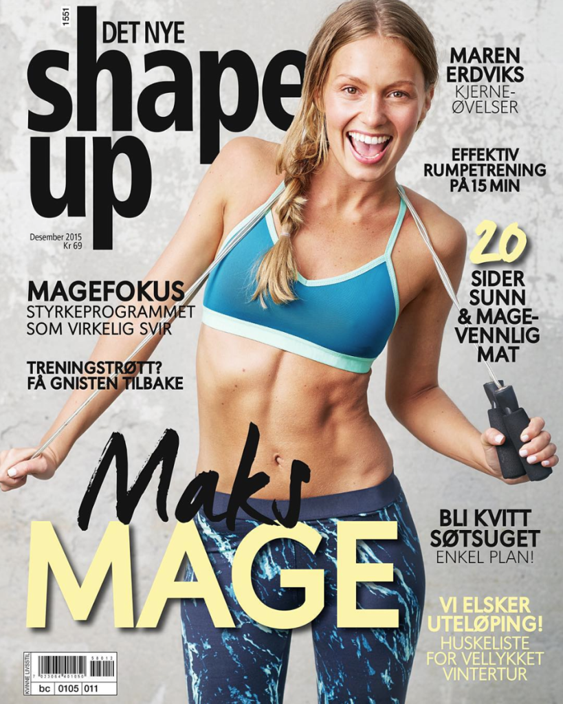 shape up norge magasin