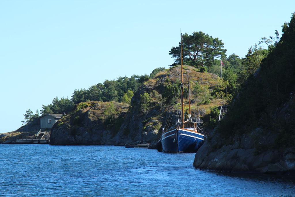 sjørøverskute Vestforld Norway