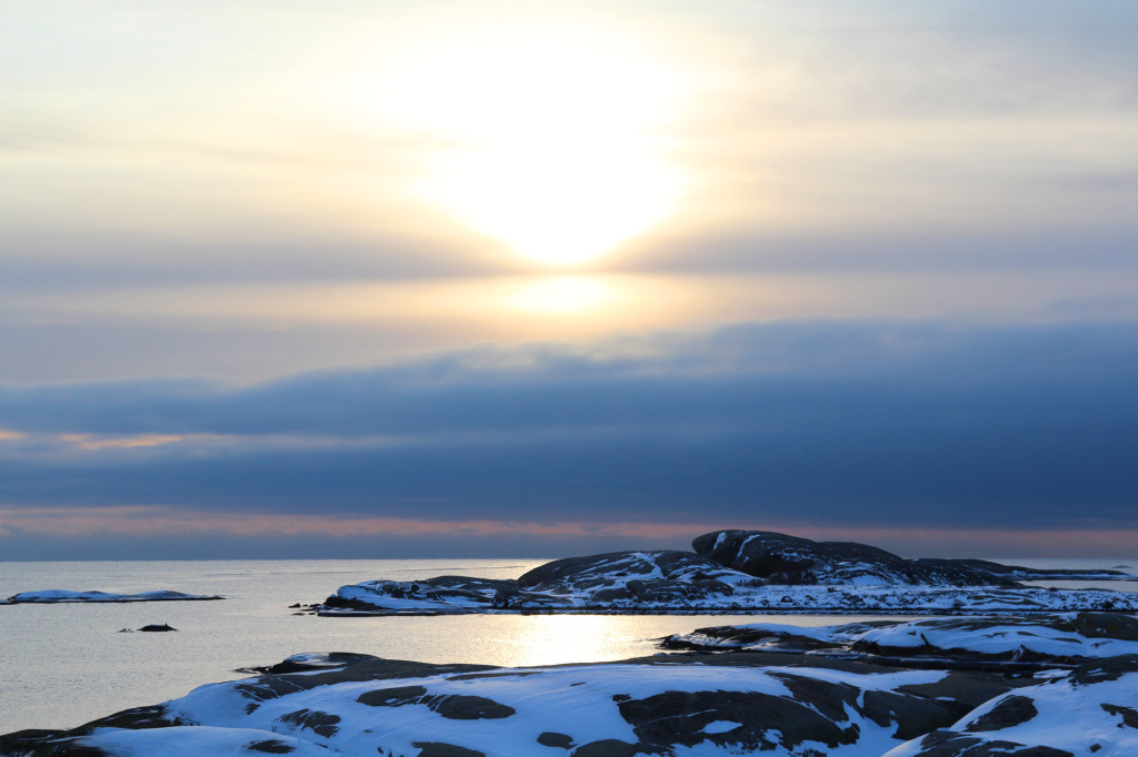 stavern rakke norge larvik solnedgang