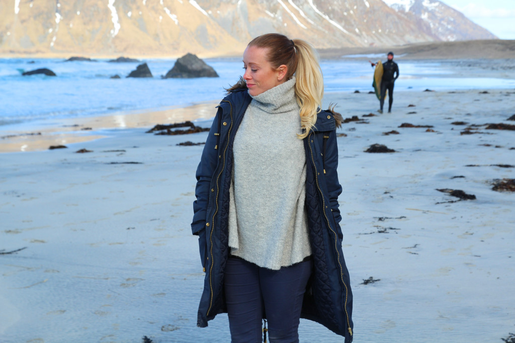 surf spot in norway lofoten travel blog