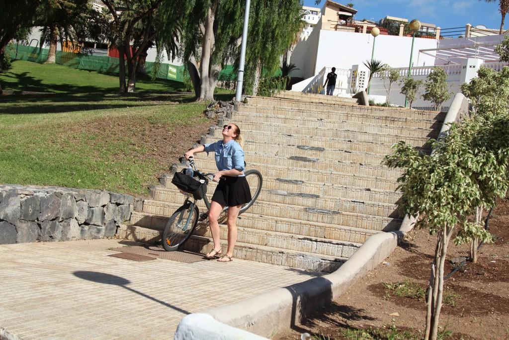 sykkel på tenerife