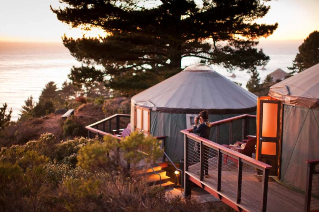 treebone resort california glamping