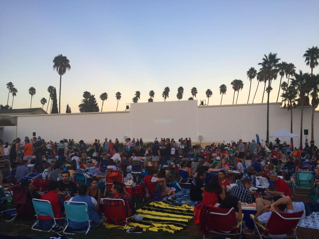 utendørskino i los angeles outdoor movie theatre