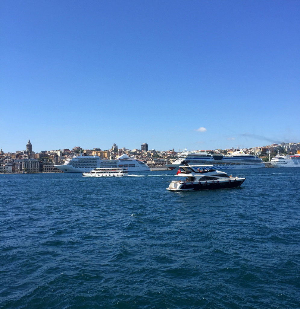 utsikt dekk istanbul