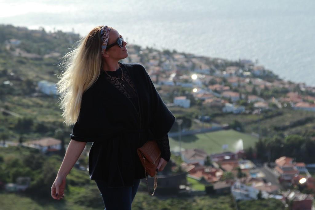 utsikt fra topp på tenerife merete