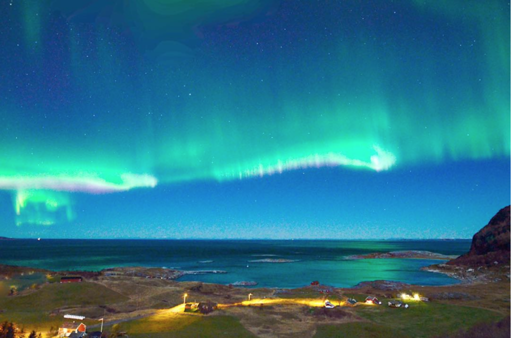 where to see northern lights norway