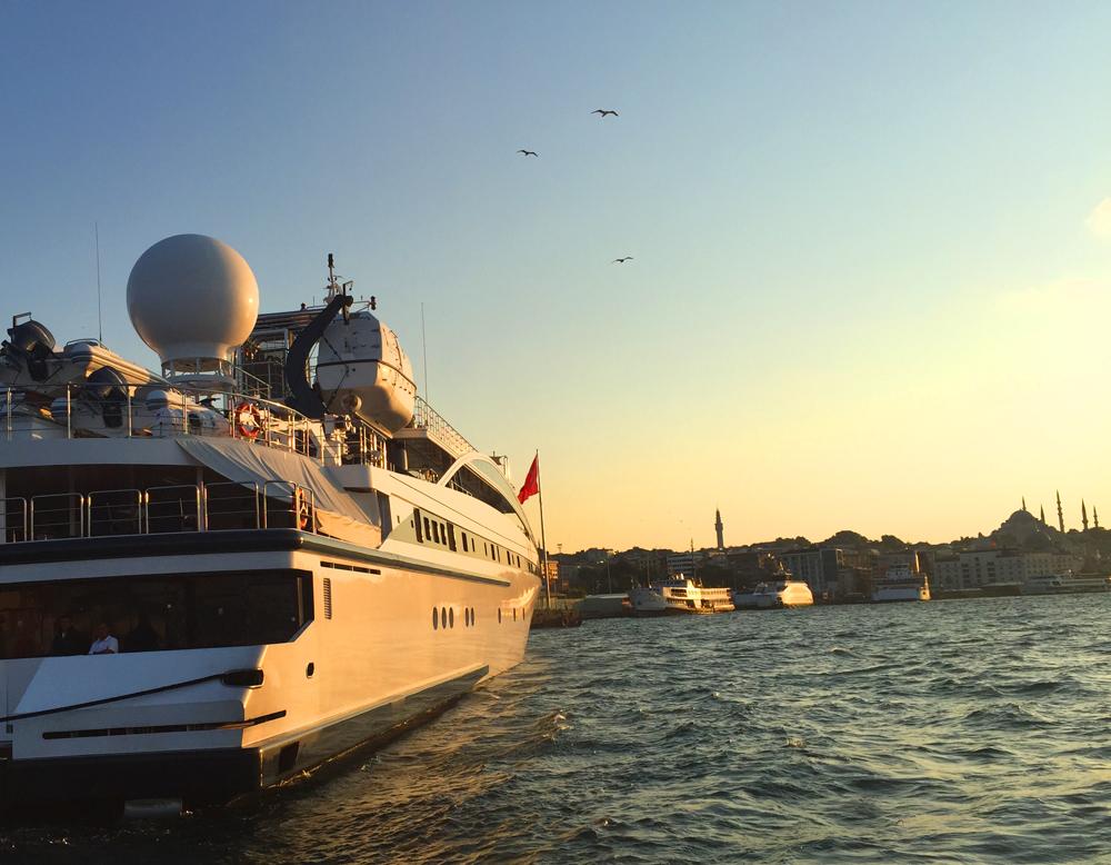 yacht istanbul