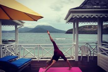 yoga i karibien st kitts og nevis